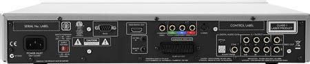 Arcam FMJ DV139 DVD speler back
