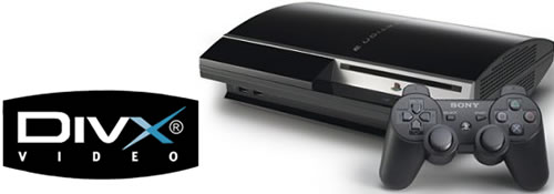 DivX/Xvid ondersteuning voor Playstation 3