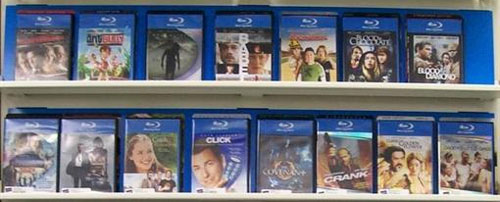 Blu-Ray in de winkel