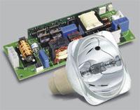 Unishape projectorlamp met electronica