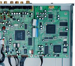Oppo DV-983H dvd speler binnenkant