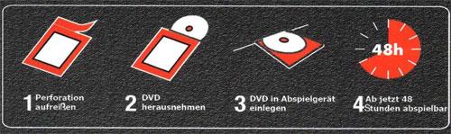 DVD-D: zelfvernietigende dvd's