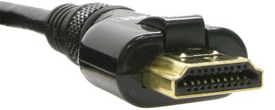 Locking HDMI kabels