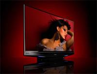 Mitubishi laservue televisie