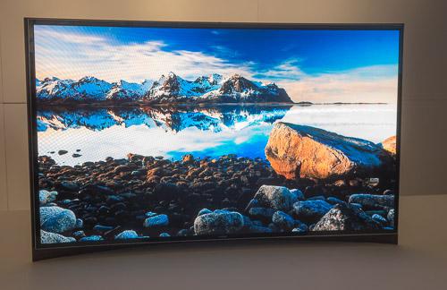 Samsung gebogen OLED scherm