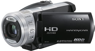 Sony HDR-SR1E A - AVCHD camcorder